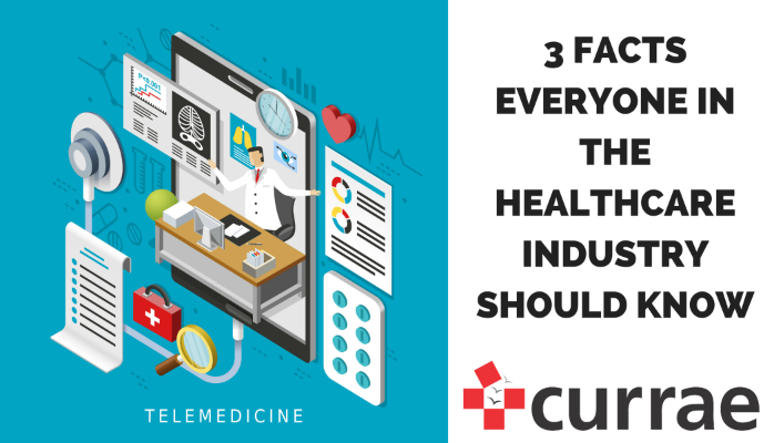 3 Facts Everyone in the Healthcare Industry Should Know (part 1)